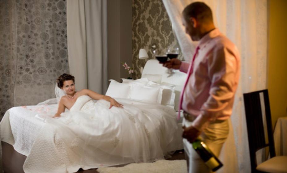 Красивое фото пар первой брачной ночи — pic 15